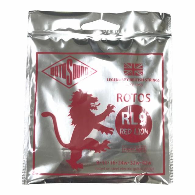 ROTOSOUND ROT-RL9 RED LION RL9 09-42 エレキギ...
