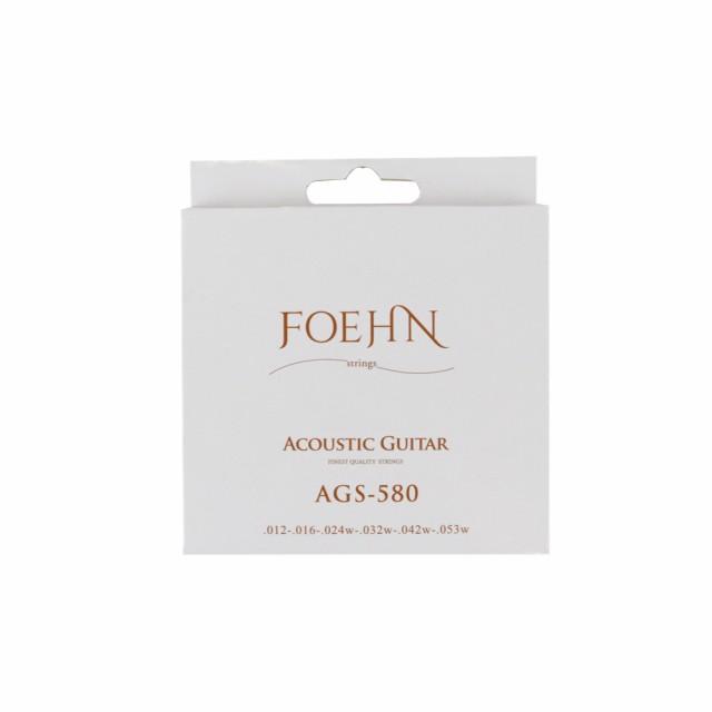 FOEHN AGS-580 Acoustic Guitar Strings Light 80...