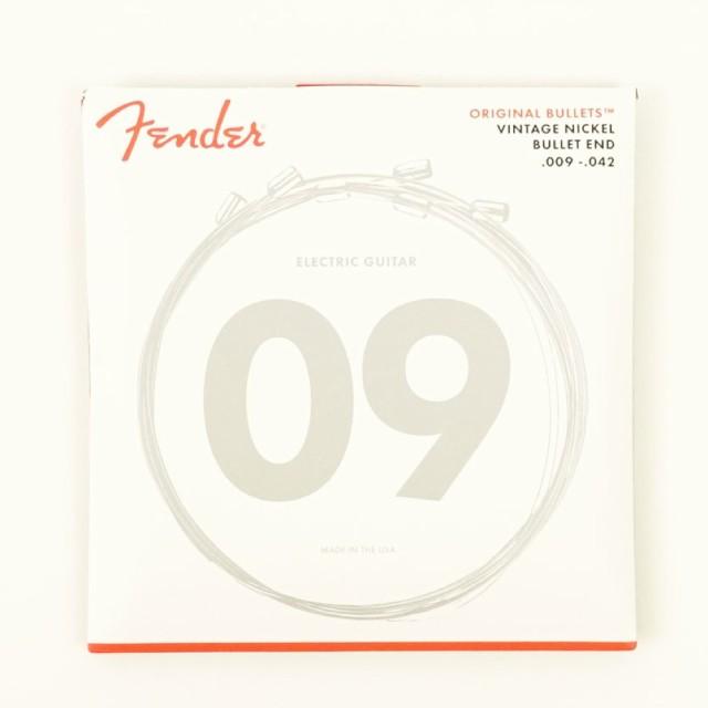 Fender Pure Nickel Bullet End 3150L 9-42 エレ...