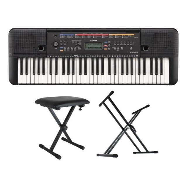 YAMAHA PSR-E263 PORTATONE 61鍵盤 電子キーボー...