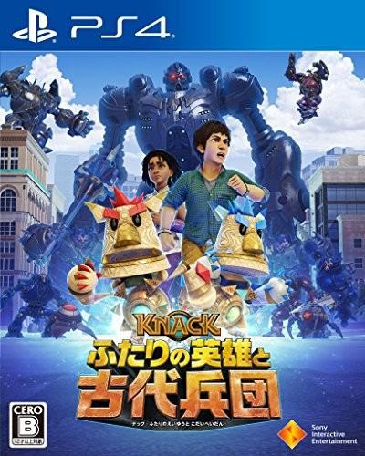 【中古】(PS4)KNACK ふたりの英雄と古代兵団 (管...