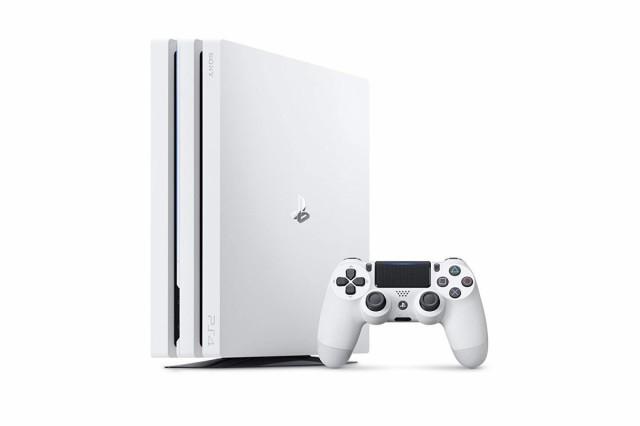 (中古)PlayStation 4 Pro グレイシャー・ホワイト...