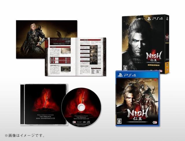 【中古】(PS4) 仁王 Complete Edition 初回限定版...