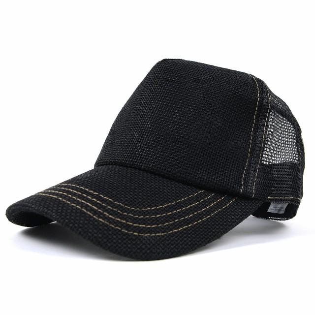 CPM-09B 帽子 メンズ 大きいサイズ 無地 ヘンプキ...