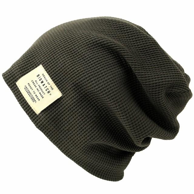 BIGWATCH正規品 大きいサイズ 帽子 メンズ サーマ...