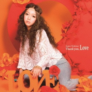 ts::ケース無:: 西野カナ Thank you  Love 通常盤...