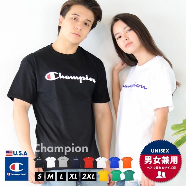 Champion チャンピオン 半袖Tシャツ メンズ 大き...