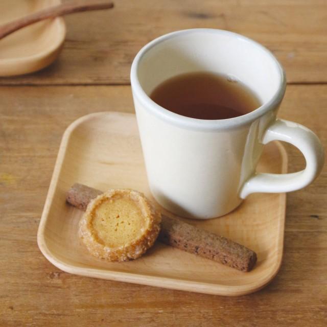 キ食調 皿Wキ食調コースター 木製 ソーサー おし...