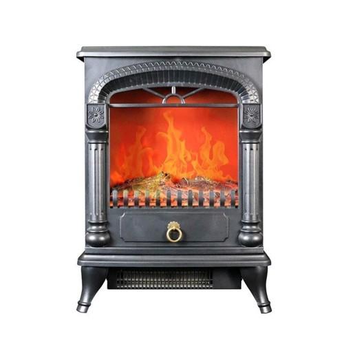 SKJAPAN SKJ-CX1200DS(メタルブラック) 暖炉型温...
