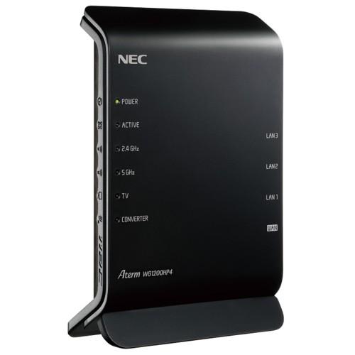NEC PA-WG1200HP4 Aterm WG1200HP4 Wi-Fi 5対応 ...