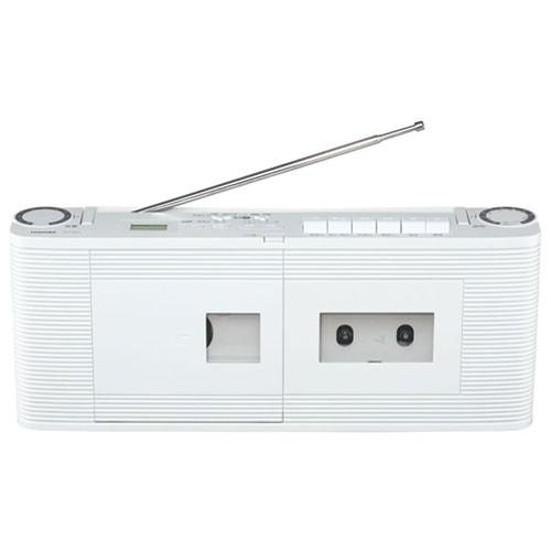 東芝 TY-CDV1-W(ホワイト) CDラジオカセットレコ...
