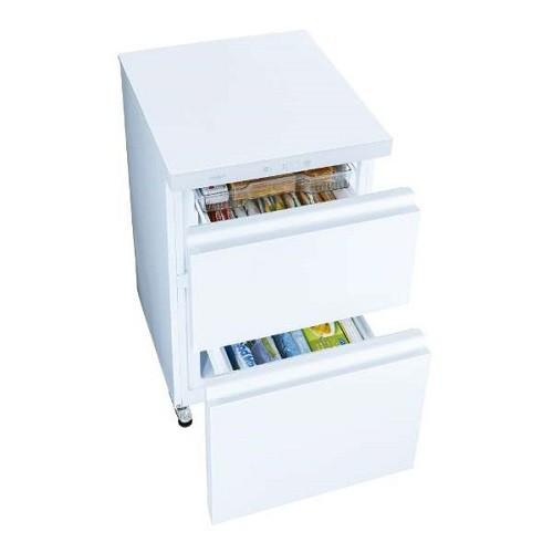 アクア AQF-GD10J-W(クリスタルホワイト) 冷凍庫 ...