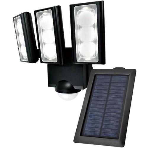 エルパ ESL-313SL LEDセンサーライト 3灯 ソーラ...