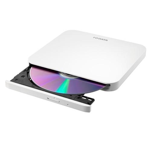 IODATA DVRP-U8LW(ホワイト) USB 2.0対応 ポータ...