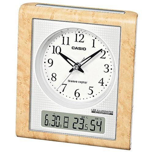 CASIO TQT-351NJ-7JF 電波目覚まし時計