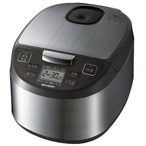 シャープ KS-S10J-S(シルバー) ジャー炊飯器 5.5...