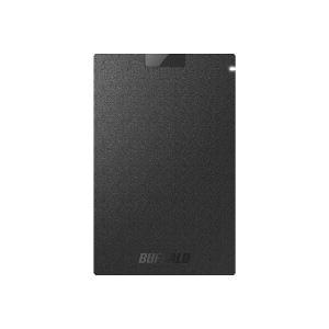 バッファロー SSD-PG480U3-BA(ブラック) ポータブ...