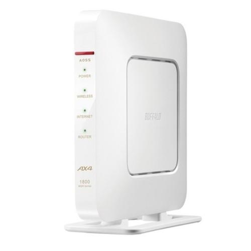 バッファロー WSR-1800AX4-WH(ホワイト) Wi-Fi 6...