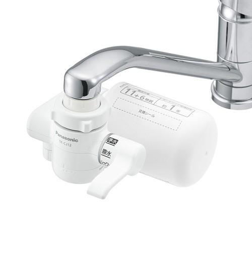パナソニック TKCJ12W(ホワイト) 蛇口直結型浄水...
