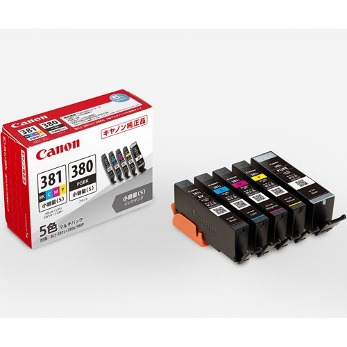 CANON BCI-381s+380s/5MP 純正 インクタンク BCI-...