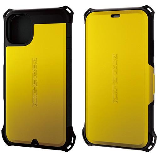 エレコム PM-A19CZEROSYL(イエロー) iPhone 11用 ...