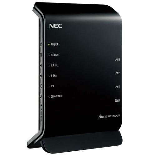 NEC PA-WG1200HS4 Aterm WG1200HS4 Wi-Fi 5対応 ...