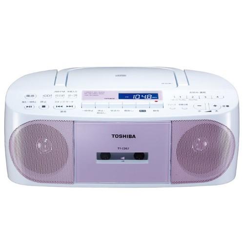 東芝 TY-CDS7-P(ピンク) CDラジカセ