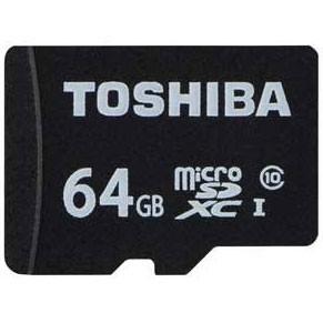 東芝 MSDAR40N64G microSDXCメモリカード 64GB CL...