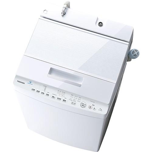 東芝 AW-7D8-W(グランホワイト) 全自動洗濯機 上開き 洗濯7kg DDモーター