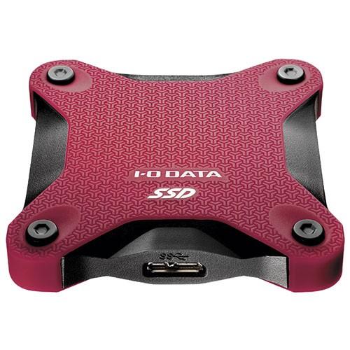 IODATA SSPH-UT480R(ワインレッド) USB 3.1 Gen 1...