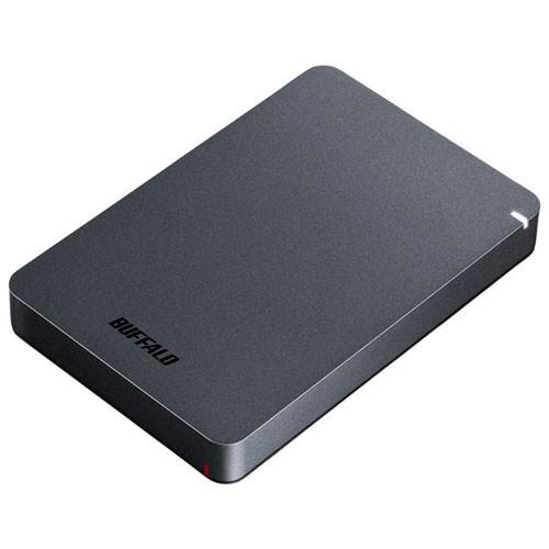 バッファロー HD-PGF2.0U3-BBKA(ブラック) ポータ...