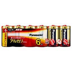パナソニック LR20XJ/6SW アルカリ乾電池 単1形 6...