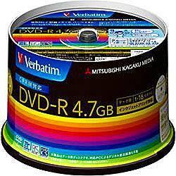 Verbatim DHR47JDP50V3 データ用DVD-R 4.7GB 1回...