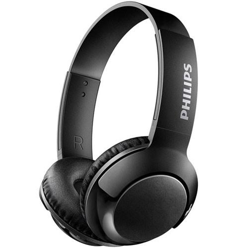 フィリップス SHB3075BK(ブラック) Bass+ マイク...