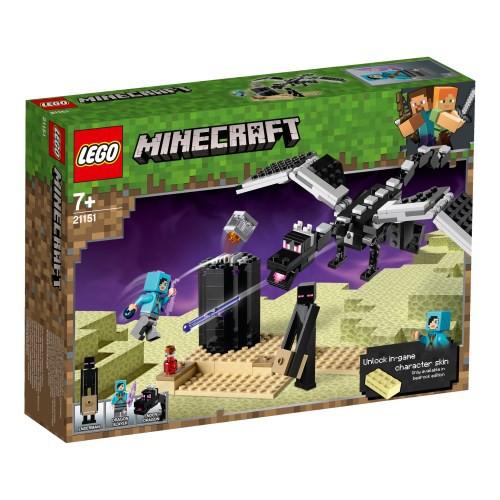 レゴ マインクラフト 最後の戦い 21151おもちゃ ...