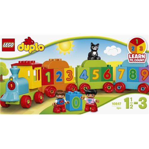LEGO 10847 デュプロ はじめてのデュプロ かずあ...