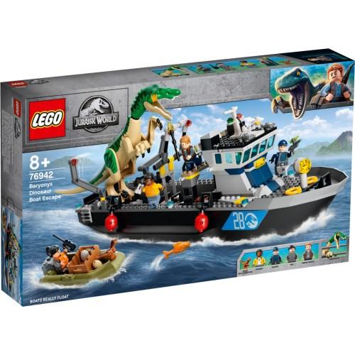 LEGO レゴ ジュラシックワールド バリオニクスの...