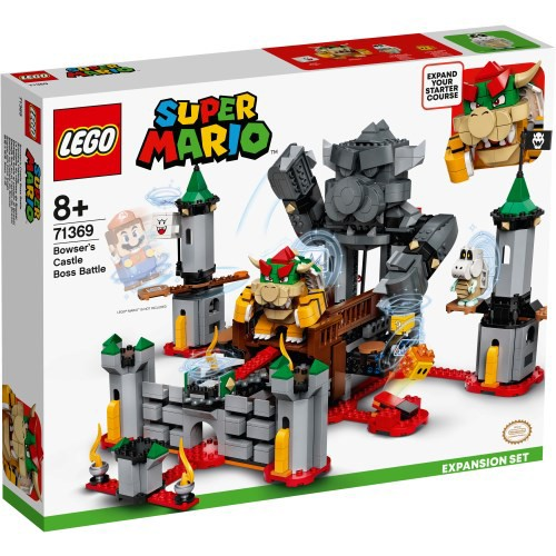 LEGO レゴ スーパーマリオ けっせんクッパ城! チ...