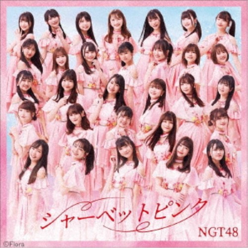 NGT48/シャーベットピンク《通常盤TYPE-A》 【CD...