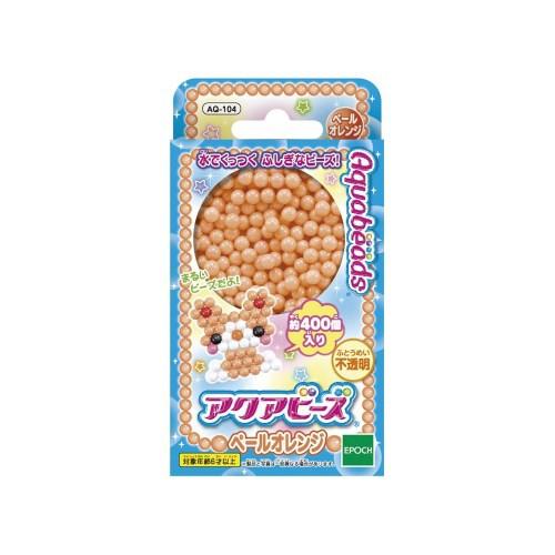 アクアビーズアート☆ペールオレンジ  おもちゃ ...