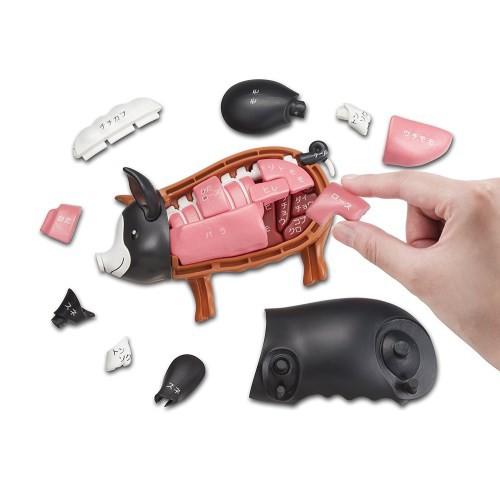 ジグソーパズル 一頭買い!!黒豚パズル おもちゃ...