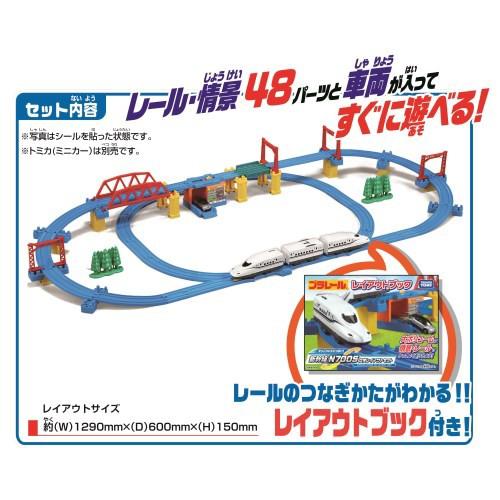 プラレール かっこいいがいっぱい!新幹線 N700S...