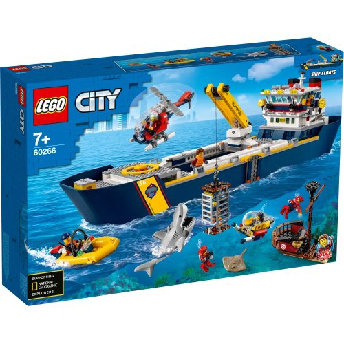 LEGO レゴ シティ 海の探検隊 海底探査船 60266お...