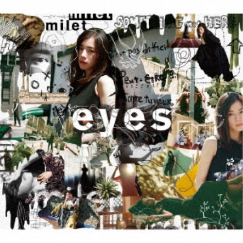 milet/eyes《限定盤A》 (初回限定) 【CD+Blu-ray...