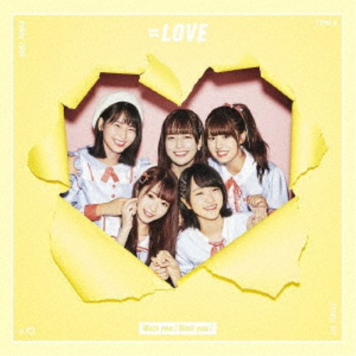 =LOVE/Want you! Want you!《TYPE-B》 【CD+D...