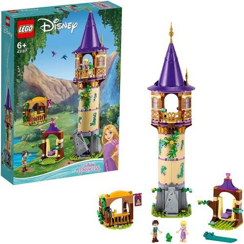 LEGO レゴ ラプンツェルの塔 43187おもちゃ こど...