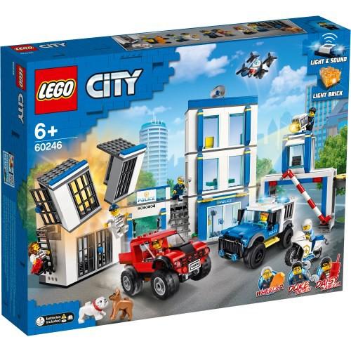 レゴ LEGO 60246 ポリスステーションおもちゃ こ...