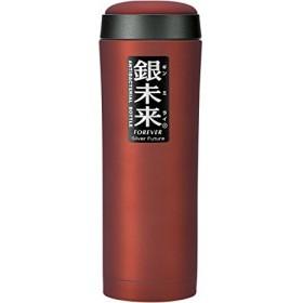 銀未来 広口ボトル 500mlレッド EBT0303