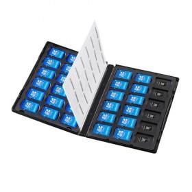 DVDトールケース型メモリーカード管理ケース(SD...