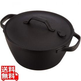 盛栄堂 南部鉄器 クックトップ 煮込鍋 丸 深型 20...